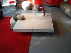 Table Tres Basse : table tres basse table de salle manger en verre ~ Teatrodelosmanantiales.com Idées de Décoration