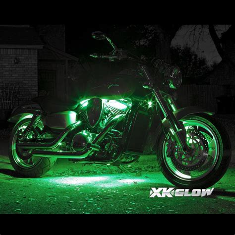 underglow lights for motorcycle 8 pod 4 7 color wireless remote kit for motorcycle