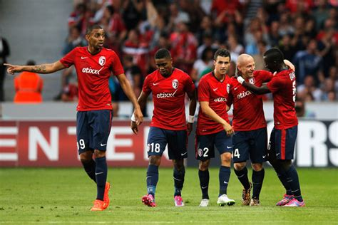 ligue   caen  lille   french