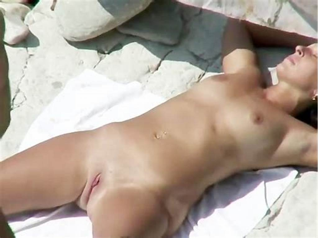 #He #Plays #With #Her #Pussy #And #Fucks #It #On #The #Beach