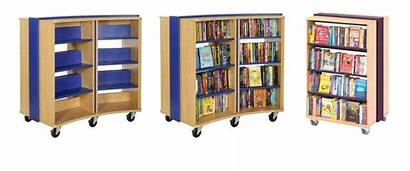 Shelving Bookspace Library Mobile Bookcase Curved Opening