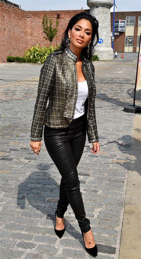 Nicole Scherzinger Oozes Sex Appeal Tight Leather