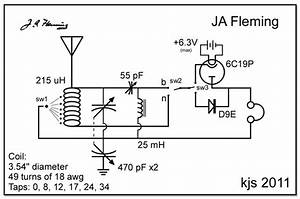 kjs crystal radio fleming With crystal set circuit