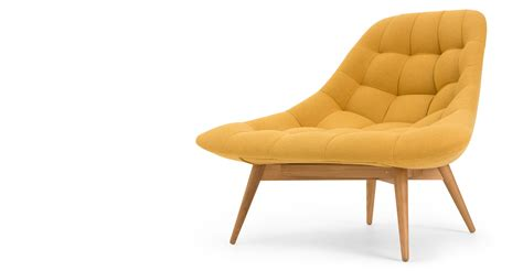 yellow accent chair kolton accent chair yolk yellow made com
