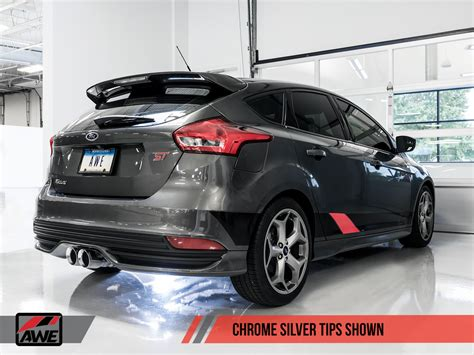ford st 2018 tuning awe tuning 2013 2018 ford focus st ecoboost turbo exhaust system non resonated ebay
