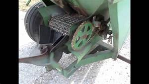 John Deere 602 Fertilizer Spreader Demo