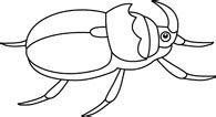 beetle clipart black and white search results search results for beetle pictures