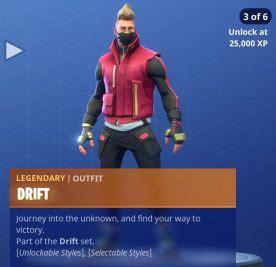 drift ragnarok   unlock   styles fortnite llama