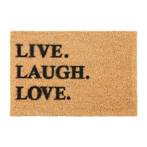 Buy Doormat by Buy Artsy Doormats Live Laugh Door Mat Amara