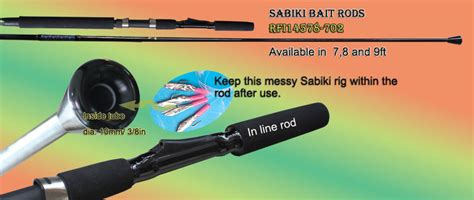 sabiki rig bait catcher rod