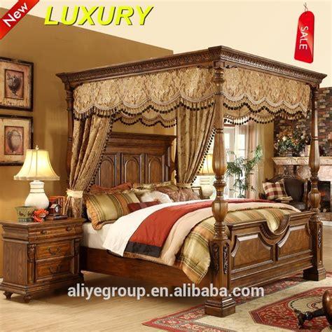 Bedroom Design Wood Bed by 9006a 58k Royal Wooden Bed Designs Wood Home Furniture