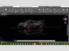 Autocad Car Design