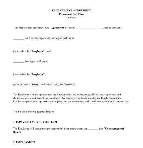 employment agreement sample  word gtld world congress