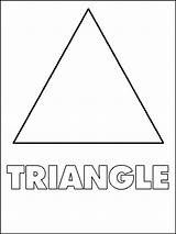 Triangle Coloring Shapes Pages Triagle Printable Shape Toddlers Template Triangles Preschool Sheets Worksheet Worksheets Printables Activities Children Bestcoloringpagesforkids Templates Print sketch template