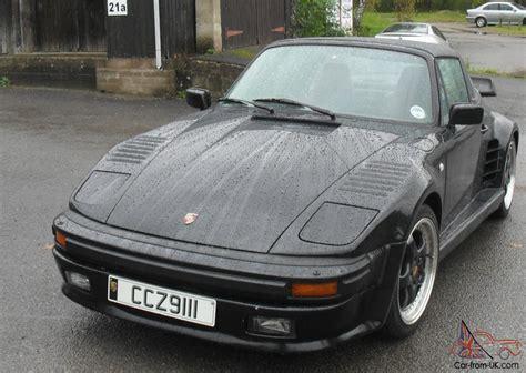 1988 Porsche 911 Turbo Targa Black