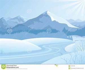 Landscape snow clipart - Clipground