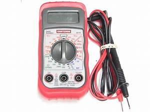 82140 Craftsman Digital Multimeter Manual
