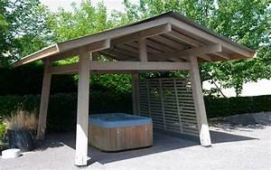 Abri Pour Barbecue Exterieur : construction et installation d 39 abri de spa sur mesure ~ Premium-room.com Idées de Décoration