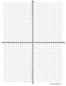 four quadrant graphing worksheets four quadrant graph paper one graph per page math aids graph paper and math