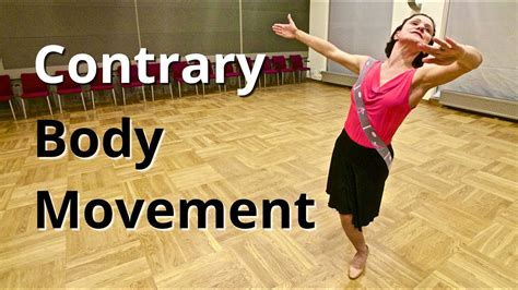 Contrary Body Movement in Dancing and Walking - YouTube