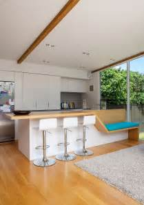 house design kitchen ideas auckland bungalow with modern glass and timber extension
