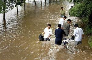 North Korean video shows flooding from heavy rains
