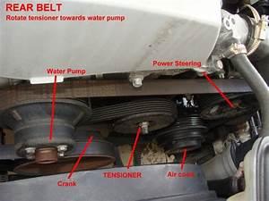 How To Change Belts On 98 Slk230