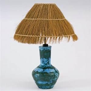 Abat Jour Paille : jacques blin lampe bleue ~ Teatrodelosmanantiales.com Idées de Décoration