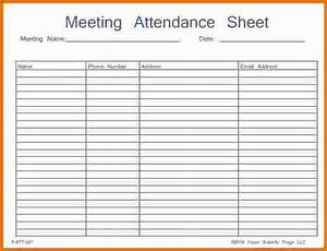46 best attendance sheet template examples for classroom With meeting attendance list template