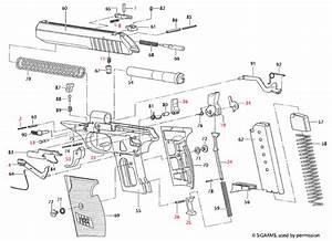 Sig Sauer U00ae P232 Explosionszeichnung