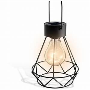 Lanterne Exterieur A Poser : soretro2 lanterne led solaire portative ~ Dailycaller-alerts.com Idées de Décoration