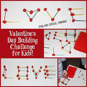 Valentine's Day STEM Building Challenge for Kids! | Wikki Stix