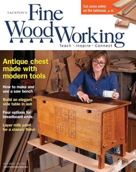 fine woodworking april