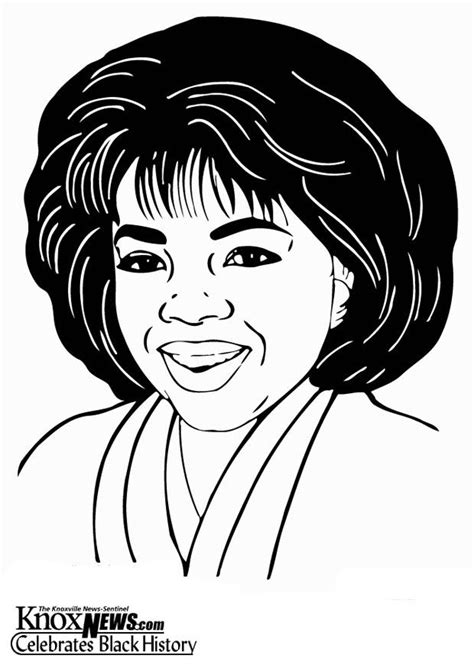 coloring page oprah winfrey img  images