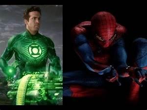 Green Lantern vs Spider-man Marvel vs DC Epic Battles ...
