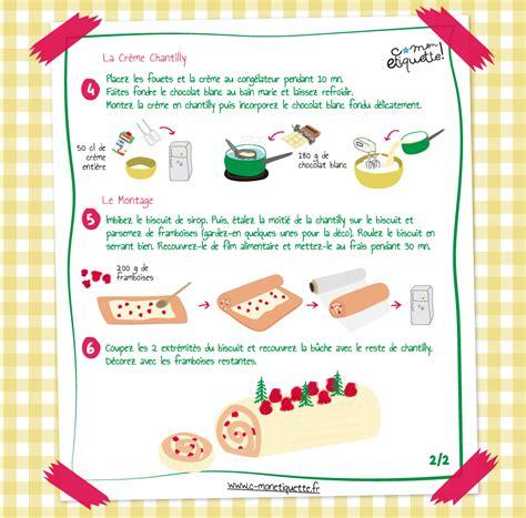 m6 recette de cuisine recette bûche de noël