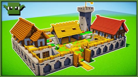 Minecraft Fortified Farm Tutorial (easy 5x5 Building