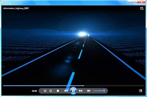 animated highway video  powerpoint