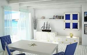 Stile Navy  Arredi In Blu E Bianco Ispirati All U0026 39 Atmosfera