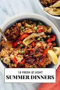 18 Light Summer Dinner Recipes