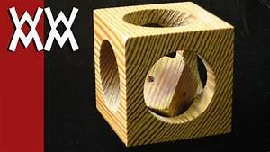 Mystery Cube-in-a-Cube Puzzle Woodworking Project - YouTube