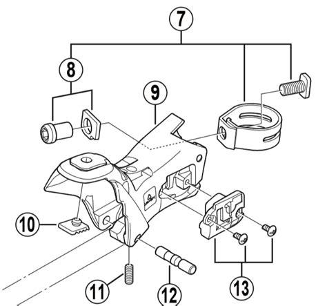 parts shimano diagram shifter ultagera downloaddescargar