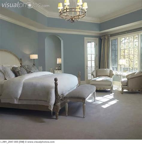 french country blue paint colors master bedroom soft blue walls white woodworkfrench style