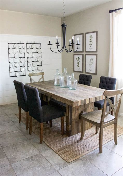 farmhouse dining room reveal designed simple