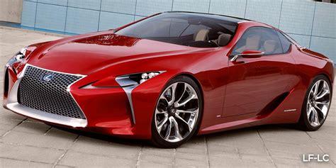 Lexus Car : Lexus Lc500 Vs Lexus Lf-lc Concept