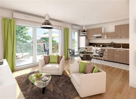 jardin de cuisine déco appartement neuf