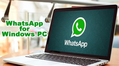 how to install whatsapp on pc windows 7 without bluestacks