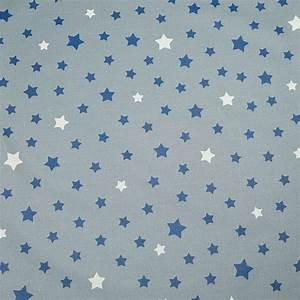 Nappe Bleu Marine : nappe enduite ronde ou ovale etoiles gris bleu marinefleur de soleil ~ Teatrodelosmanantiales.com Idées de Décoration