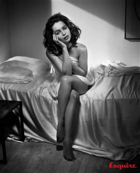 Game Of Thrones Star Emilia Clarke Named Esquire's Sexiest