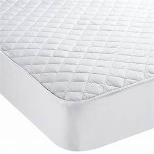 anti allergy and anti bacterial quilted mattress protector With allergen bed protector